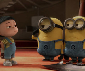 minions, agnes, and film image