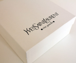 YSL, Yves Saint Laurent, and box image