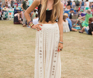 outfit, style, and maxi skirt image