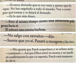 frases, libro, and hush hush image