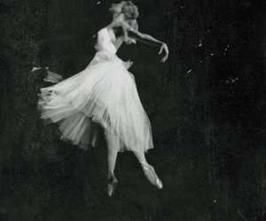 dress, jump, and tulle image