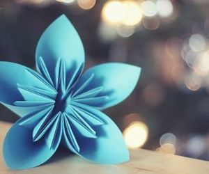 blue, paperflower, and blu! image
