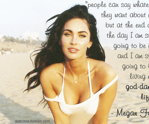 megan fox, text, and tez image