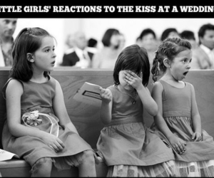 girls, little girls, and kiss image