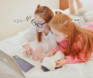 girl, korean, and kawaii image