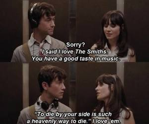 500 Days of Summer, the smiths, and movie image