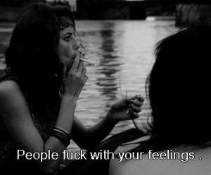 Effy, feelings, and quote image
