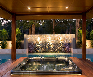 luxury, architecture, and pool image