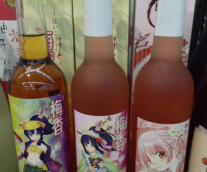 anime, asian, and drink image