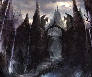 castle and fantasy image