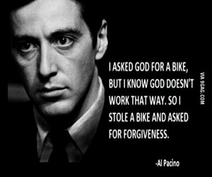 quote, al pacino, and god image