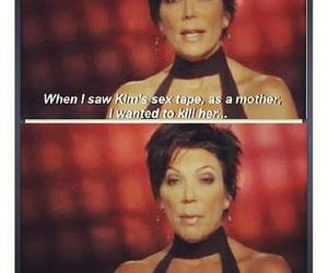 kris jenner, kim kardashian, and lol image