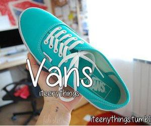 shoes, vans, and girl image