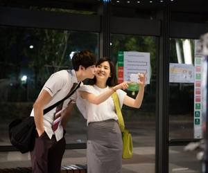 couple, lee bo young, and Korean Drama image