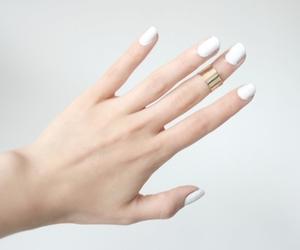 nails, fashion, and white image