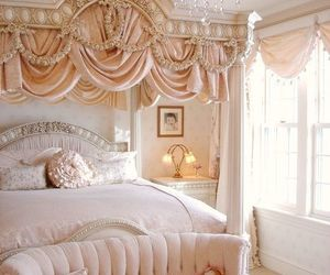 girly, pink room, and dream bedroom image