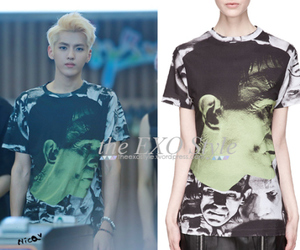 exo, kris, and frankenstein t-shirt image