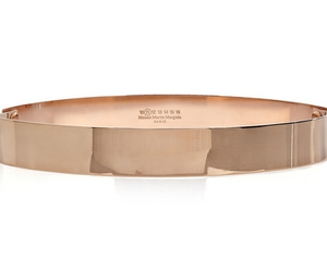 rose gold, belt, and Maison Martin Margiela image