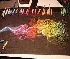 amazing, crayons, and colors image