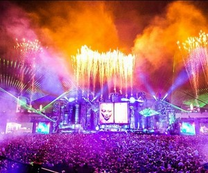 dj, party, and Tomorrowland image