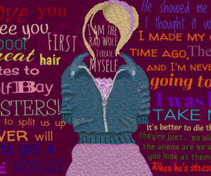 doctor who, rose tyler, and quote image