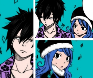 anime, fairytail, and gray image