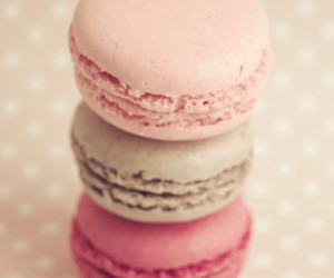 color, macarons, and cute image