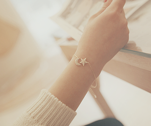 bracelet, star, and accessories image