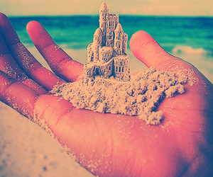 amazing, fan, and sand castle image