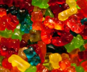 gummy, sweet, and bears image