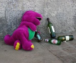 barney, beer, and i dont know image
