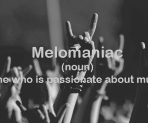 music, melomaniac, and rock image
