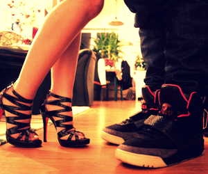 couple, shoes, and boy image