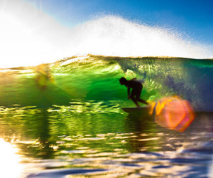 ocean and surfing image