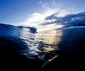 beautiful, blue, and water image