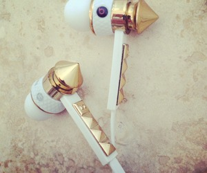 gold, beats, and music image
