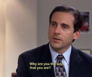 the office, michael scott, and steve carrell image