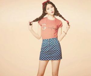 girl, korea, and iu image