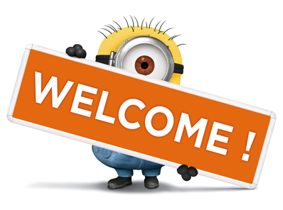 Image result for welcome minions png