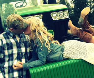 country, love, and kiss image