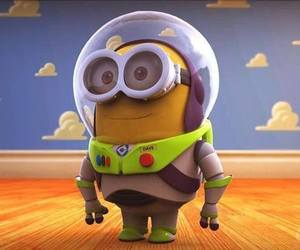 minions, toy story, and buzz lightyear image