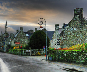 ancient, village, and france image