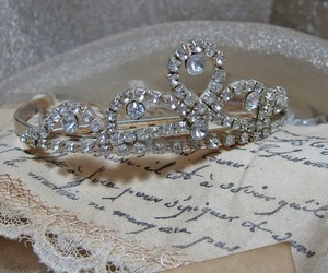 princess, vintage, and crown image
