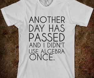 algebra, funny, and day image