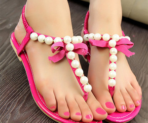 beaded, online, and sandals image