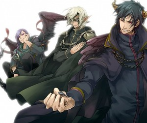 anime, lucifer, and art image