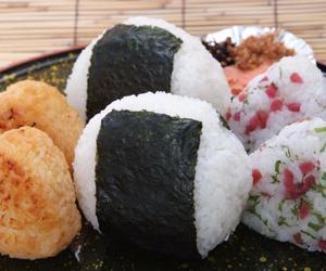 food, japan, and onigiri image