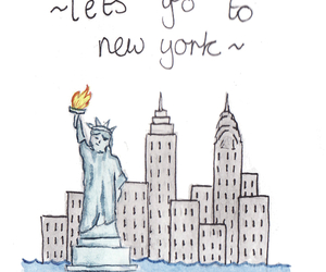new york and drawing image
