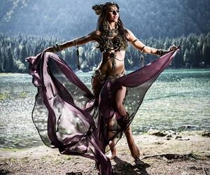 beautiful, tribal, and bellydance image