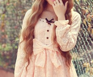lolita, dress. lace, and lovely image